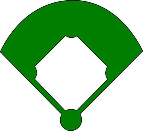 baseball field clip art at clker com vector clip art
