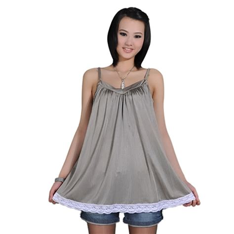 61420 Nillon Dress Size S M L oursure radiation protection products maternity clothes camisole top with radiation shield