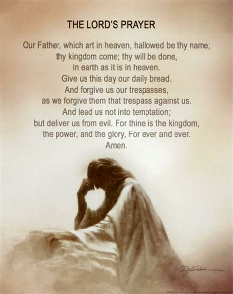 The Lord Prayer the lord s prayer believe
