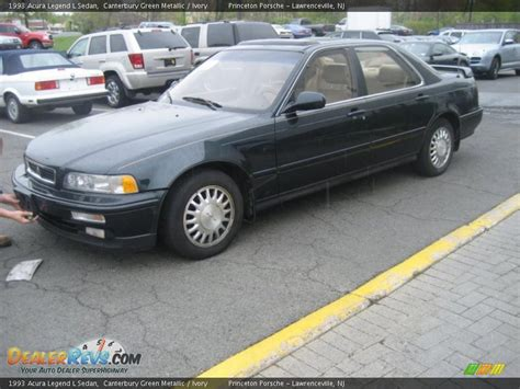 acura legend 1993 1993 acura legend l sedan canterbury green metallic