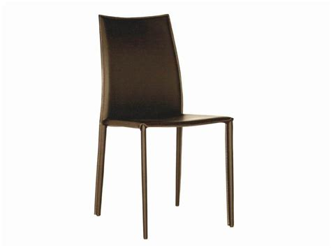 rockford brown leather dining chair chicago furniture