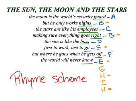 pattern of rhyme exles showme poetry wilfred owen