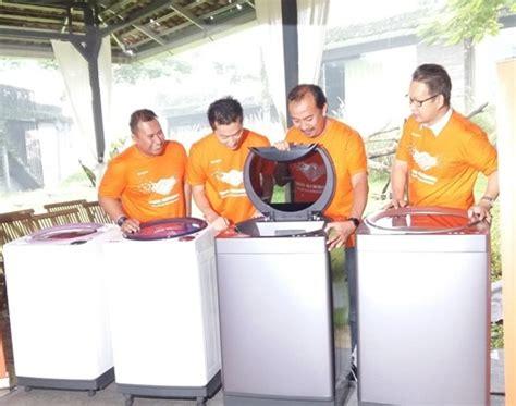 Mesin Cuci Sharp Megamouth sharp luncurkan mesin cuci berkapasitas besar