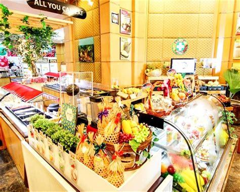 Fruit Buffet At Baiyoke Sky Hotel Bangkok Thailand Baiyoke Sky Hotel Buffet
