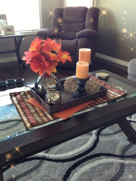 living room painting ideas fall coffee table decor how to diy welcome the fall with merry decorations for your