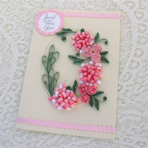 Handmade By - handmade quilled birthday cards ideas craft projects