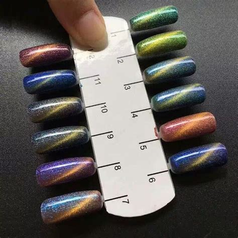 gel color changing nail best 20 magnetic nail ideas on