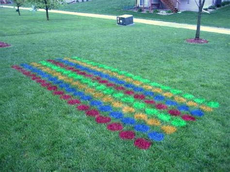 backyard twister how to make an outdoor twister mat neatorama