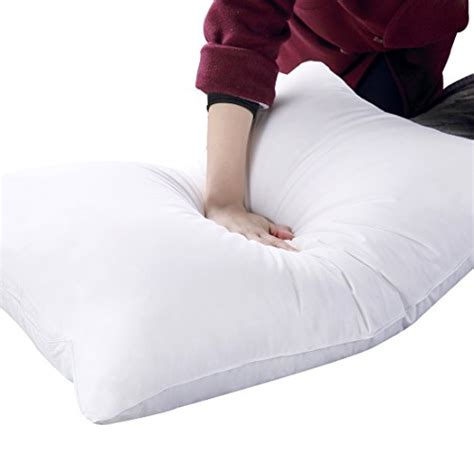soft bed pillows balichun bedding hypoallergenic bed pillow 100 cotton