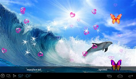 wallpaper live girl apk free 3d dolphin live wallpapers apk download for android