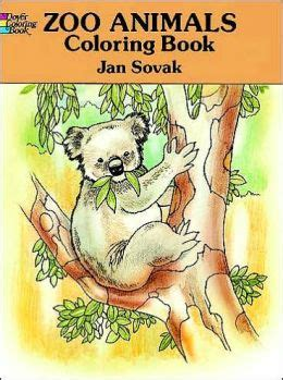 the heaven zoo coloring book books zoo animals coloring book by jan sovak 9780486277356