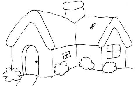 imagenes para colorear jardin casas para colorear