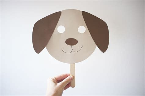 best photos of dog mask template free printable dog mask