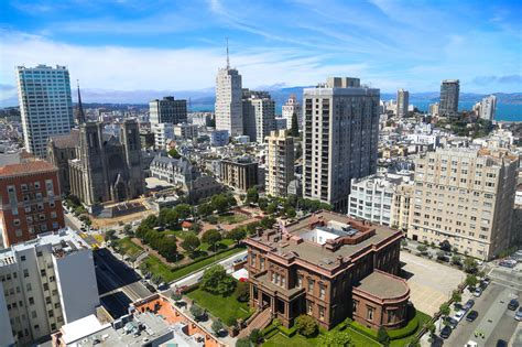 san francisco map nob hill nob hill san francisco view of san francisco from the