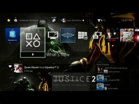 ps4 themes order injustice 2 pre order ps4 theme youtube