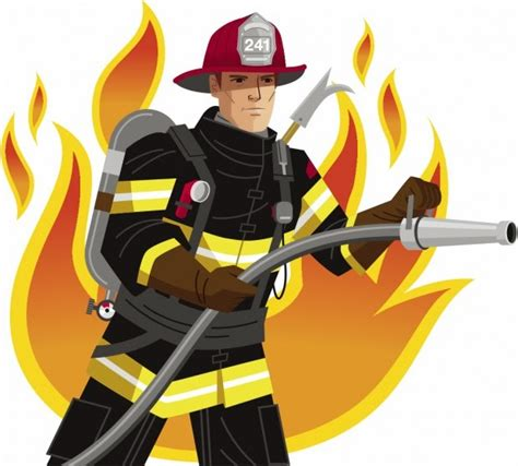 firefighter clipart firefighter coloring pages to print realistic coloring pages