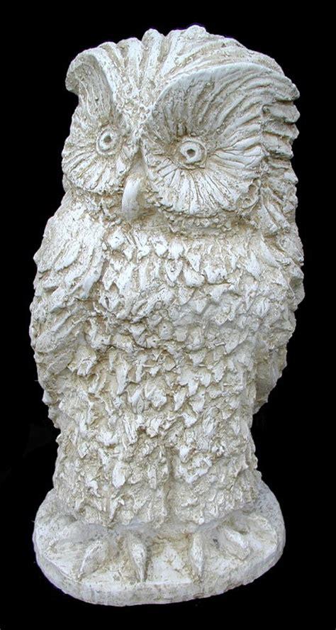 statue da giardino in resina gufo statue animali da giardino