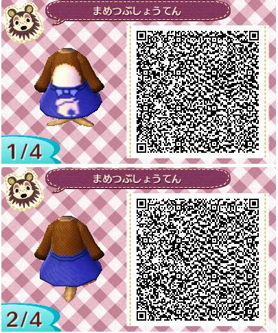 design clothes new leaf re the qr code database page 4 animal crossing new