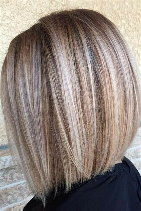 printable pictures of the inverted stack haircut blonde bob with beige and ask highlights throughout love