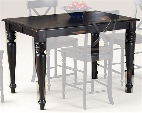 solid wood counter height table intercon solid wood counter height table roanoke inrn5454gtab