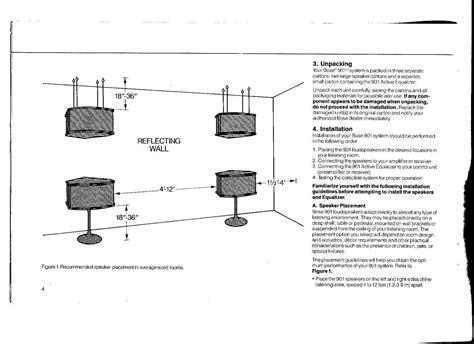 Bose 901 Iv Speaker Wiring Diagram Wiring Library