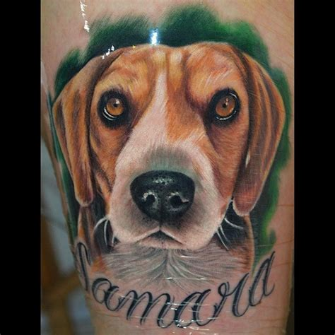 beagle tattoo designs the 15 coolest beagle designs in the world