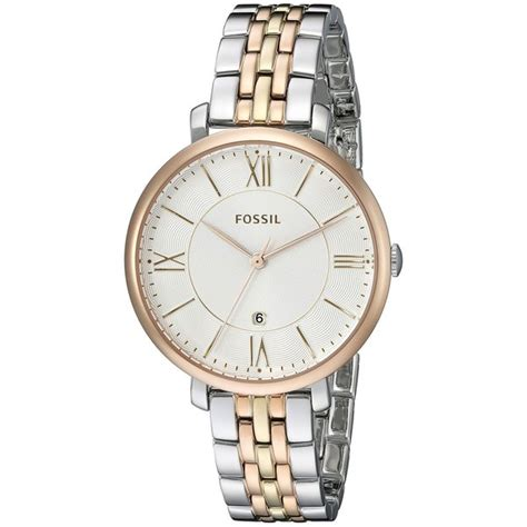Fossil Es3844 Jacqueline fossil s es3844 jacqueline two tone stainless
