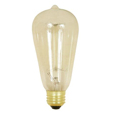 60 Watt Light Bulb In 40 Watt L by Ge Reveal 60 Watt Incandescent B10 Blunt Tip Multi Use