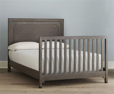 dwell studio beckett convertible crib washed grey