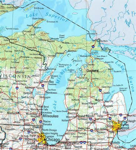 Gaylord Michigan Map by Car Accident Car Accident Gaylord Mi