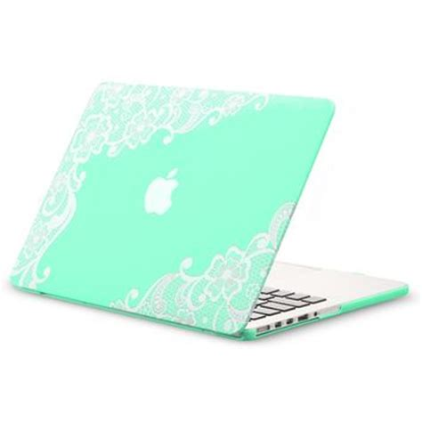 For Macbook Pro Retina 13 A1502 A1425 Mint Green Matte kuzy retina 13 inch lace mint green from cool