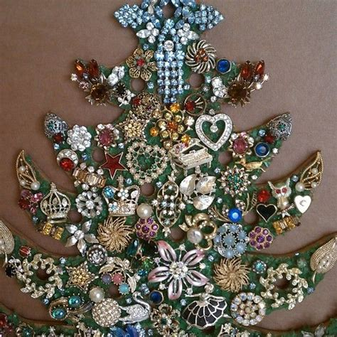 how to make a costume jewelry tree vintage costume jewelry tree costume jewelry
