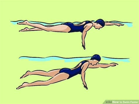 how to your to swim how to swim faster with pictures wikihow