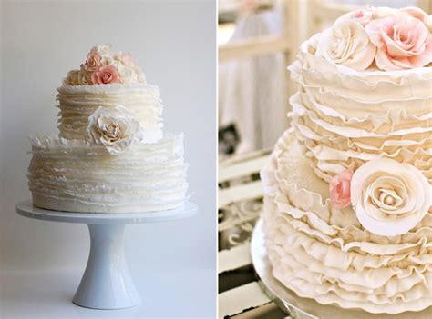 pattern cakes pinterest pinterest trends ruffled wedding cakes mayhar design