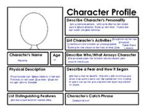 describe layout of a report 1000 images about character description unit on pinterest