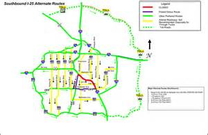 colorado dot map road closures for wednesday s presidential debate in