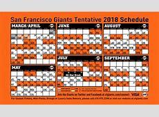 Giants Printable Schedule | San Francisco Giants 2017 Cubs Schedule Calendar