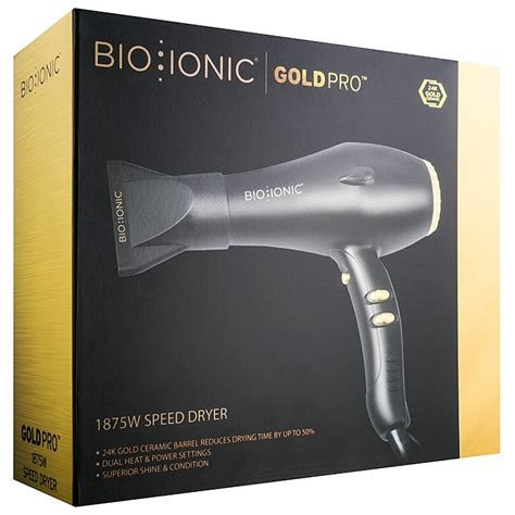 Bio Ionic Hair Dryer Australia bio ionic goldpro 1875 w speed dryer hair dryer notino co uk