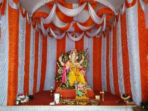 decorative ganpati pandal curtain manufacturer  mumbai
