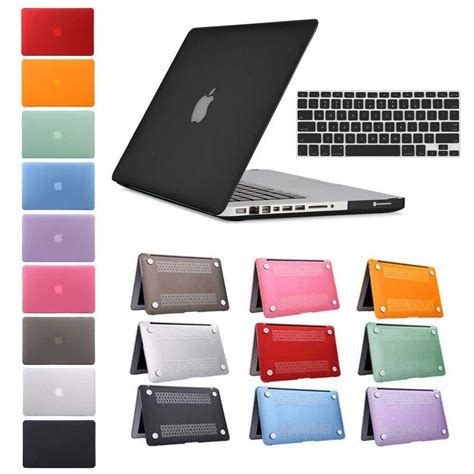 Matte Laptop Apple Macbook Air 11 13 Casing Cover Back rubberized shell cover keyboard macbook air 11