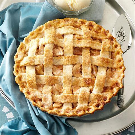 best apple pie recipe lattice topped apple pie recipe taste of home