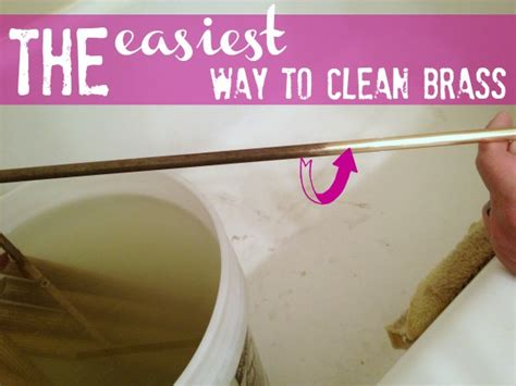 what is the best way to clean a bathtub how to clean brass the easy way c r a f t