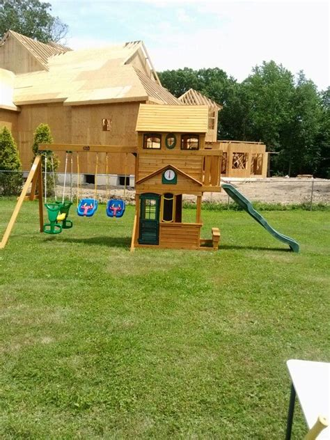 big backyard ashberry playset from toys r us installed in