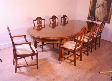 walnut victorian dining table extending tables marquetry