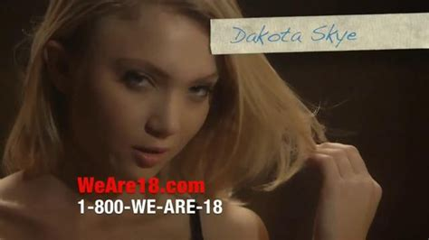 we are 18 tv commercial for phone and video chat ispot tv we are 18 tv commercial dakota skye ispot tv