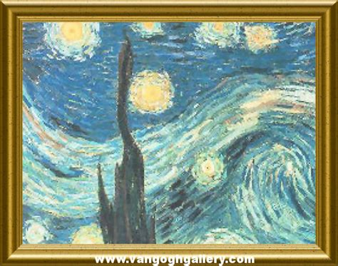 The Vincent Van Gogh Gallery Click Starry Vincent