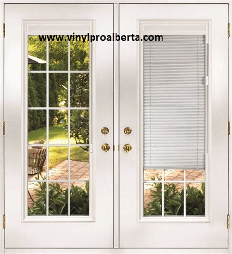 Exterior Doors With Built In Blinds Doors Exterior With Built In Blinds Doors Garden Doors Edmonton Edmonton
