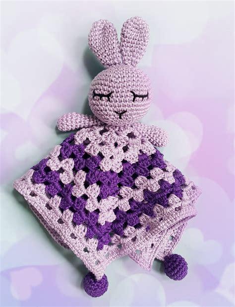 Maille Serrée Au Crochet by Trentenaire And So What Adorable Doudou Lapin Au