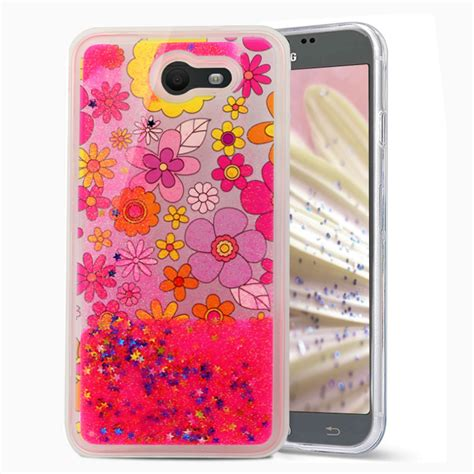Fashion Water Gliter For Samsung Galaxy J7 for samsung galaxy j7 sky pro liquid moving glitter water design ebay