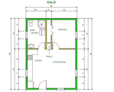 20 x 30 floor plans house plan for 20 x 30 home design and style